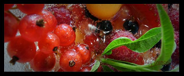 SALADE DE FRUITS, JOLIE, JOLIE… et pétillante!
