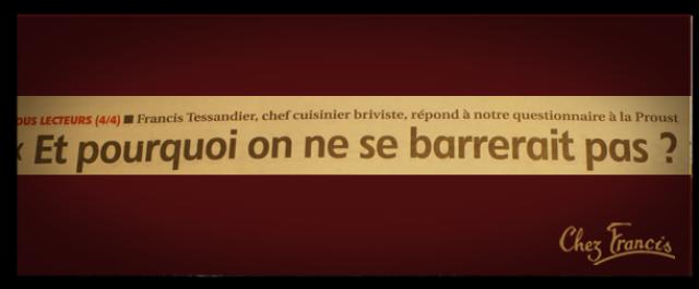 QUESTIONNAIRE «A LA PROUST»